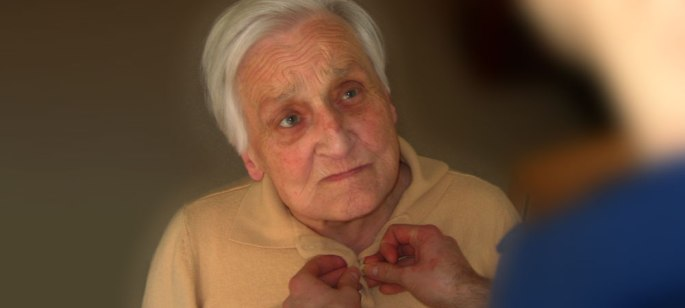 Pflegefall Alter Mann