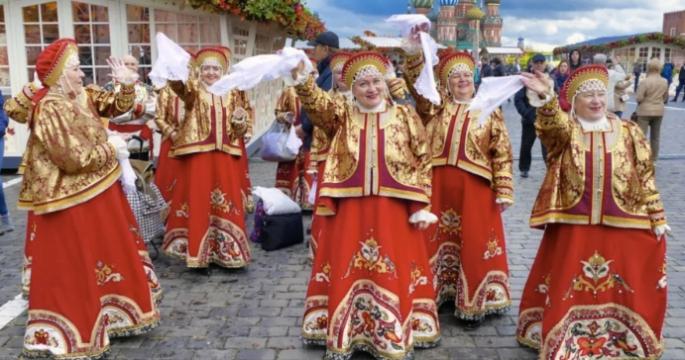 Bilder aus Moskau